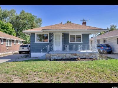 Salt Lake City UT Single Family Home For Sale: $279,500