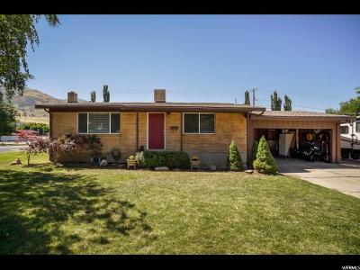 Brigham City Single Family Home Under Contract: 493 Greenwood Dr