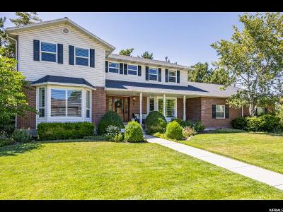 West Jordan Single Family Home Under Contract: 2358 W Williamsburg Cir S