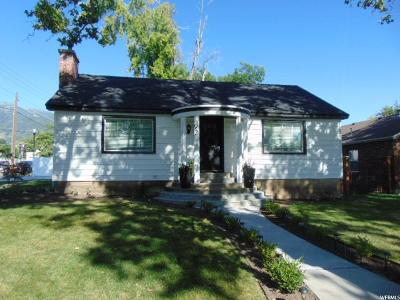 Kaysville Single Family Home For Sale: 92 N 100 W
