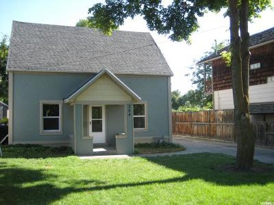 Logan Single Family Home Under Contract: 354 E 500 N