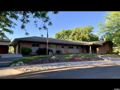 Logan Single Family Home For Sale: 1700 E 1700 N