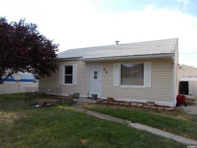 Grantsville UT Single Family Home For Sale: $249,955