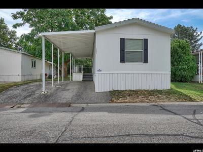 Davis County Single Family Home Under Contract: 334 E Pellinore N #41