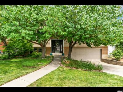 Midvale Single Family Home Under Contract: 799 E Grenoble Dr S