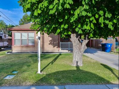 Single Family Home Under Contract: 740 N 100 W