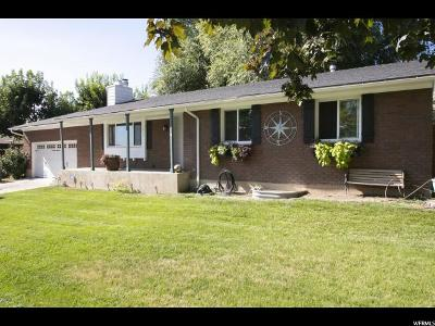 Pleasant Grove Single Family Home For Sale: 1075 E 100 N