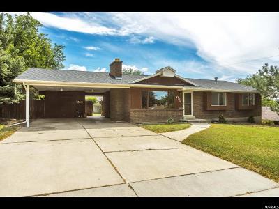 Springville Single Family Home Under Contract: 1088 E 100 N