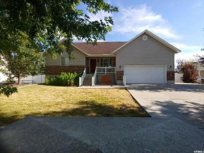 Nibley Single Family Home Under Contract: 1410 Sunset Cir