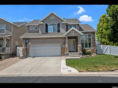 Herriman Single Family Home Backup: 13274 S Copper Park Dr
