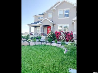 Lehi Single Family Home Under Contract: 3451 N Hillside Dr