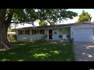 Weber County Single Family Home For Sale: 1050 Rancho Blvd