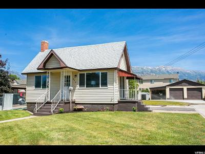 American Fork Single Family Home Under Contract: 274 N 300 W