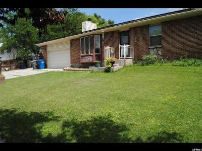American Fork Single Family Home For Sale: 94 N 800 E