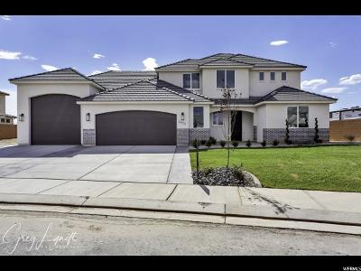 St. George Single Family Home For Sale: 3472 S Garden Dr