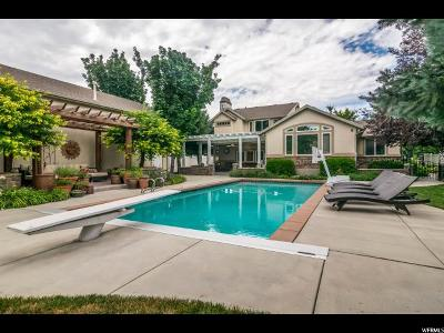 South Jordan Single Family Home Under Contract: 2531 Windsor Manor Ct