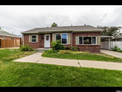Midvale Single Family Home Under Contract: 540 E 7570 S