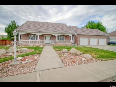 Single Family Home For Sale: 1263 E 530 N