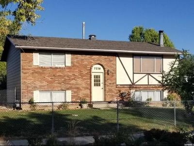 Clearfield Single Family Home Under Contract: 2238 S 450 W