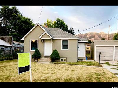 Logan Single Family Home Under Contract: 540 S 200 W