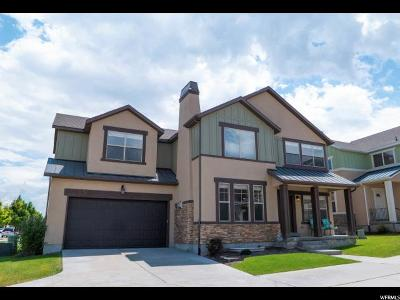 Herriman Single Family Home Under Contract: 5107 W Fortrose