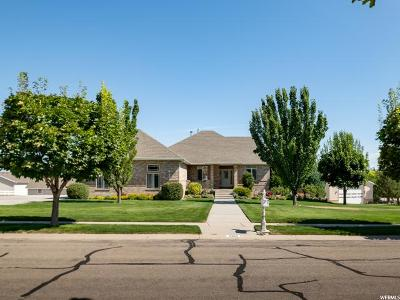 Bluffdale Single Family Home Under Contract: 2316 W Thunderhead S