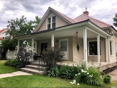 Wellsville Single Family Home Under Contract: 44 N 200 E