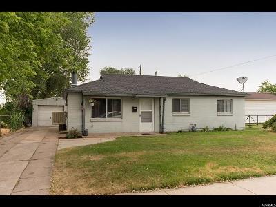 Davis County Single Family Home For Sale: 264 S 1000 E