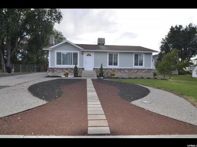 Payson Single Family Home Under Contract: 616 S 600 E