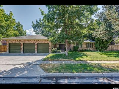 Sandy Single Family Home For Sale: 8495 S Terrace Dr E