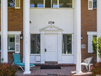 Sugar House Condo For Sale: 2718 S Highland Dr #11
