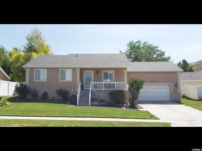 Payson Single Family Home Under Contract: 1463 S 260 W