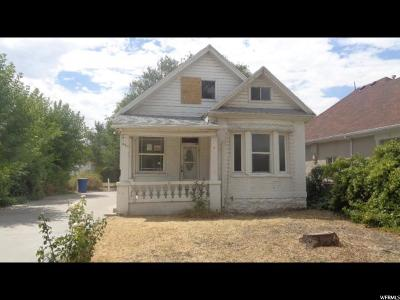 Single Family Home For Sale: 461 N 1100 W