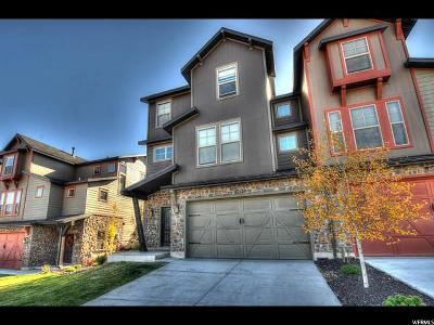Wasatch County Condo For Sale: 825 W Abigail Dr