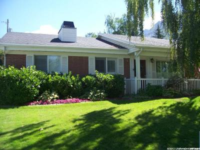 Holladay Single Family Home For Sale: 4239 S Sovereign