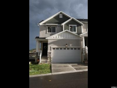 Herriman Townhouse For Sale: 4321 W Quiet Shade Dr