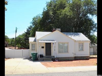 Davis County Single Family Home Under Contract: 936 E 1000 S