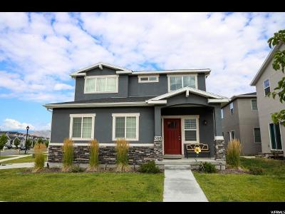 Bluffdale Single Family Home For Sale: 588 W Koins Way