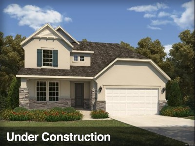Tooele County Single Family Home Under Contract: 756 W Regatta Ln
