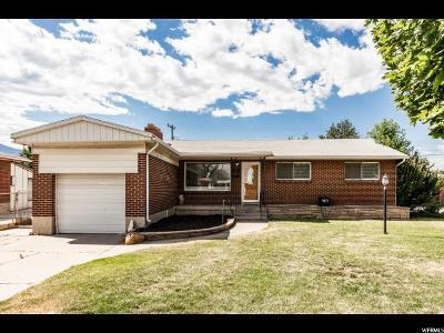 Midvale Single Family Home For Sale: 406 E 6815 S
