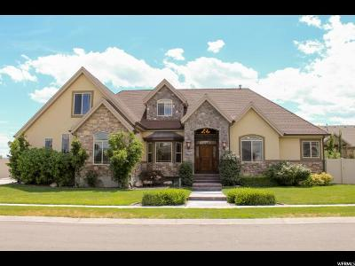 Bluffdale Single Family Home For Sale: 1483 W Iron Gray Dr S