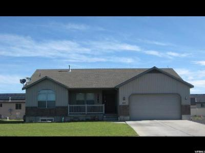 Tremonton Single Family Home For Sale: 812 W 460 S