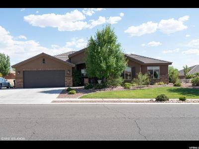 St. George Single Family Home For Sale: 1555 W 360 N