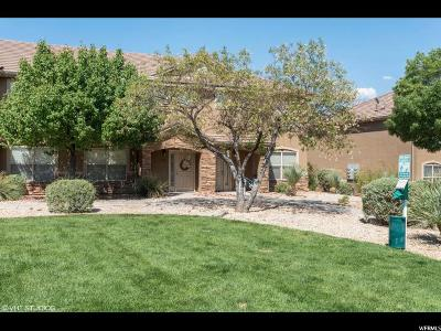 St. George Townhouse For Sale: 3155 S Hidden Valley Drive #122