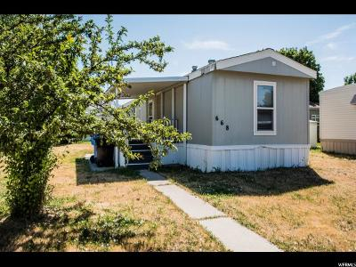 Logan Single Family Home For Sale: 668 N 500 W