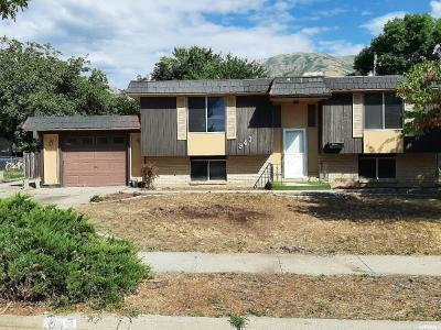 Brigham City Single Family Home For Sale: 947 S Fishburn W