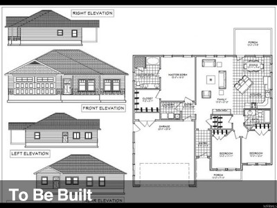 Tremonton Single Family Home For Sale: 1180 N Legend Dr W #15
