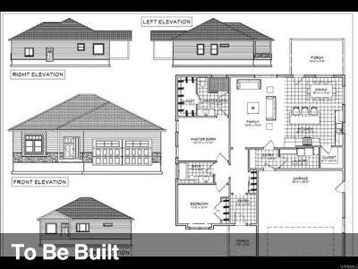 Tremonton Single Family Home For Sale: 1197 N Legend Dr W #25
