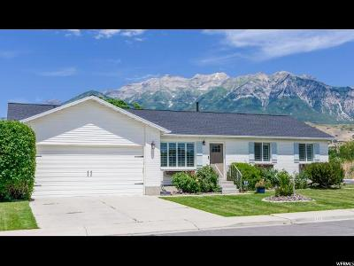 Orem Single Family Home Under Contract: 747 E 660 N