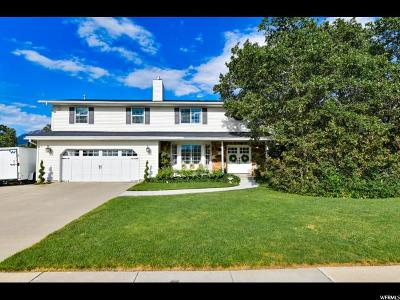 Sandy Single Family Home Under Contract: 8297 S Terrace Dr